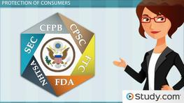 Government Regulation Agencies for Consumer Protection