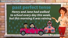 Rules for Using Past Tense