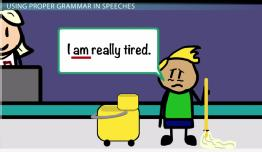Grammar & Pronunciation in Public Speaking