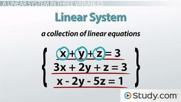 How to Solve a Linear System in Three Variables With No or Infinite Solutions
