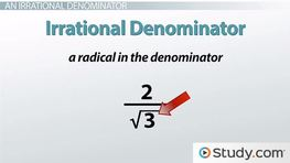 How to Rationalize the Denominator with a Radical Expression