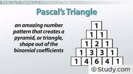 Pascal's Triangle: Definition and Use with Polynomials