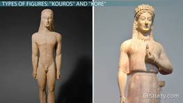 Archaic Greek Sculpture: Characteristics & Overview