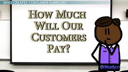 Consumer Surplus: Definition, Formula & Examples