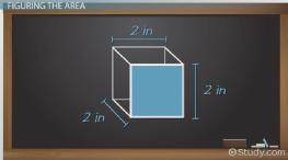 How to Find the Surface Area of a Cube