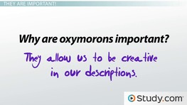 How To Recognize And Use Oxymorons