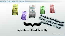 How to Solve Equations on a Calculator