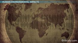 Human Environmental Impact & Ecological Conservation