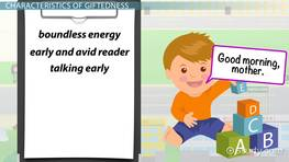 Giftedness in Children: Definition, Characteristics & Conceptions