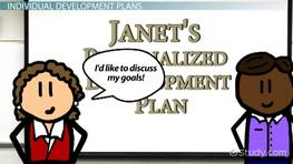 Creating Individual Development Plans for Employees
