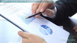 Aggregate Planning Process: Services vs. Manufacturing Strategies