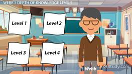 Using Webb's Depth of Knowledge Levels in the Classroom