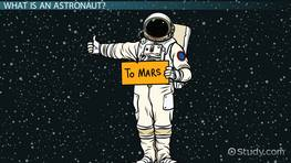 Astronauts Lesson for Kids