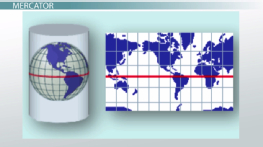 Map Projections: Mercator, Gnomonic & Conic