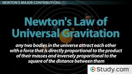 Isaac Newton's Role in the Scientific Revolution