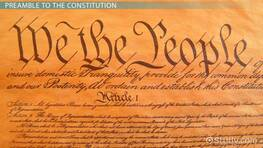 Preamble to the Constitution Lesson for Kids