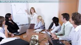 Tips for Succeeding as a New Manager