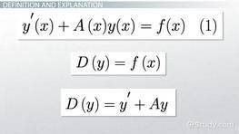 Nonexact Equations: Integrating Factors - Video & Lesson