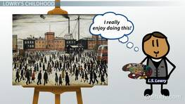 L.S. Lowry Facts: Lesson for Kids