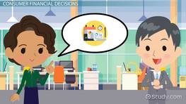 Consumer Financial Decision Making
