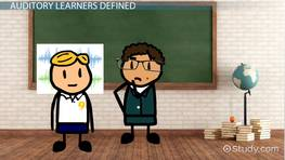 Auditory Learning Strategies for Teachers - Videos ...