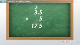 Add, Subtract, Multiply & Divide Decimals