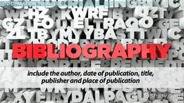 Annotated Bibliography: Definition & Examples