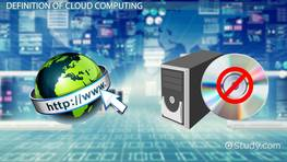 What is Cloud Computing? - Definition, Advantages & Disadvantages