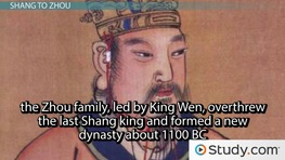 Ancient China: Shang & Zhou Dynasties