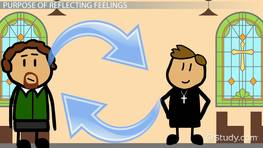 Reflecting Feelings: Definition & Examples