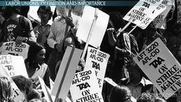 What Is a Labor Union? - Definition & History