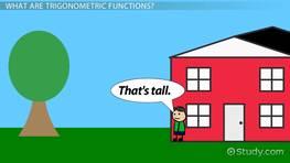 Trigonometric Functions: Definition & Examples - Video