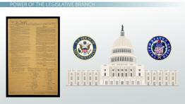 Legislative Branch of Government: Definition, Power & Function
