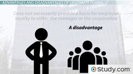 Legitimate Power in Leadership: Definition & Example