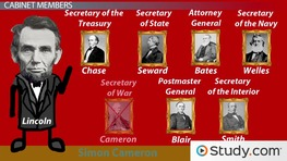 President Lincoln's Cabinet: Members & Dynamics
