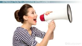 Linguistic Intelligence: Definition & Explanation