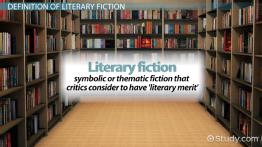 Literary Fiction: Definition & Examples