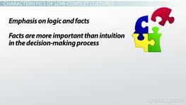 Low-Context Culture: Definition & Overview