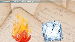 Robert Frost's Fire and Ice: Analysis & Theme