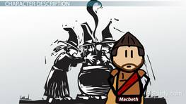 macbeth shakespeare character description king duncan and William shakespeare's macbeth as a  and the downfall of the main character this description of a tragedy matches the  comes to speak to king duncan,.