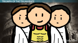 Members of the First Triumvirate: History & Explanation