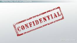 Maintaining Record Confidentiality