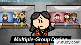 Multiple Group Design: Definition & Examples