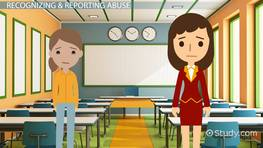 The Role of Teachers in Recognizing & Reporting Child Abuse