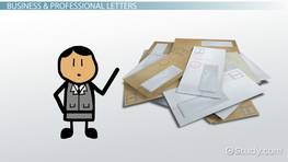 Types of Letter Writing