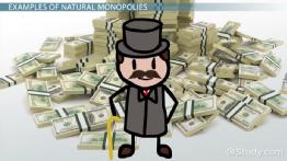 Natural Monopoly in Economics: Definition & Examples