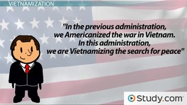 Vietnamization: Nixon's Plan to Withdraw American Forces