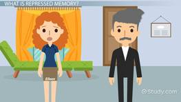 Repressed Memory: Definition, Symptoms & Therapy