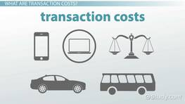 Transactions Costs in Economics: Definition, Theory & Examples