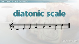 Diatonic Scale: Definition & Patterns